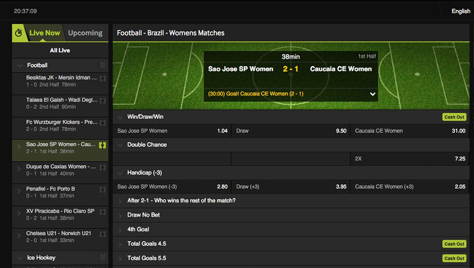 betway-live-betting online