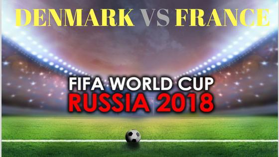 Denmark vs France Fifa World Cup match