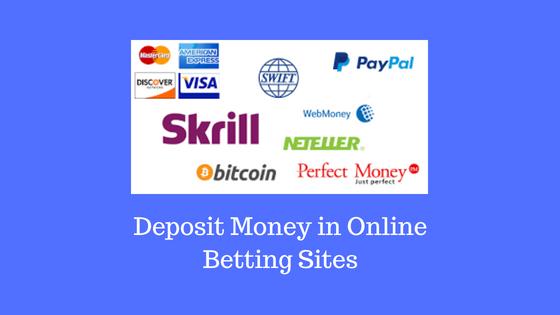 Deposit Money in Online Betting Sites