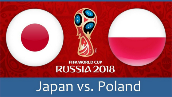 Japan VS Poland match