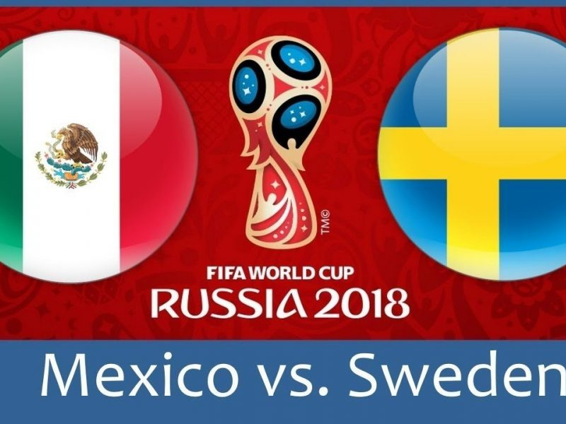 Mexico-vs-Sweden fifa world cup match