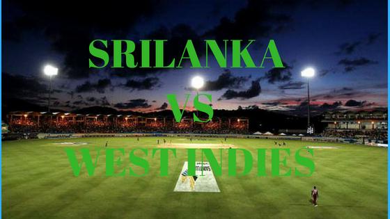 SRILANKA VSWEST INDIES