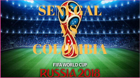 Senegal vs Colombia fifa world cup match