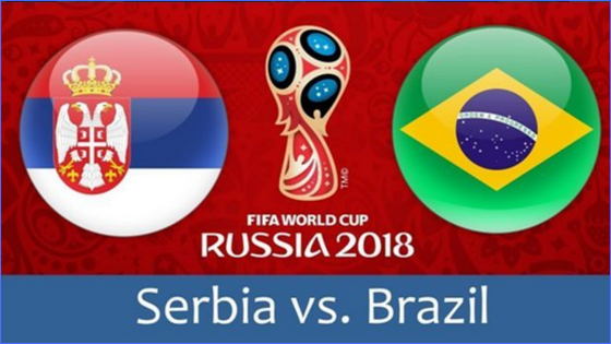 serbia vs brazil fifa world cup match