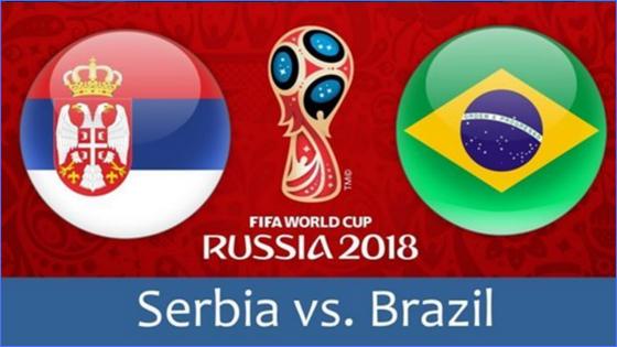 serbia vs brazil fifa world cup match