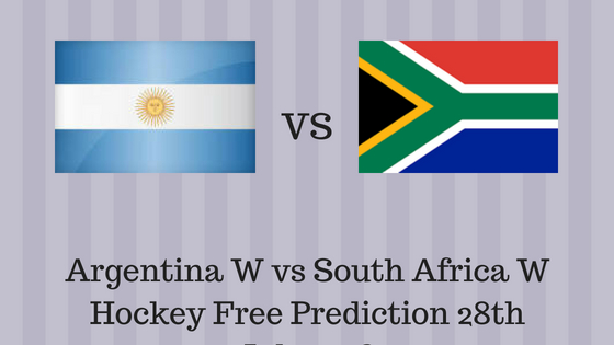 Argentina W vs South Africa W Hockey Free Prediction 28th July 2018