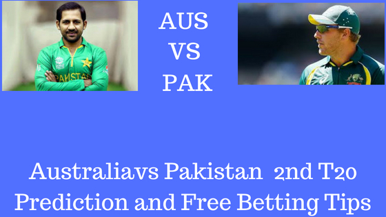 Australiavs Pakistan 2ndT20 Prediction and Free Betting Tips 2nd july 2018