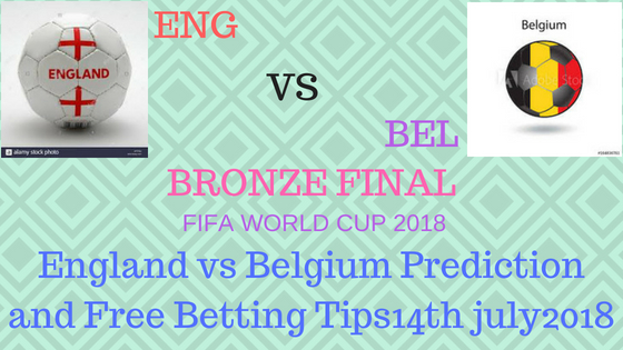 England vs Belgium Prediction and Free Betting Tips14th july2018