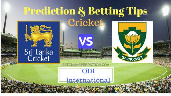 Sri Lanka vs South Africa 2nd ODI Prediction and Free Betting Tips 1st August 2018