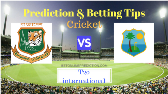 Windies vs Bangladesh 1st T20 Prediction and Free Betting Tips 1st August 2018