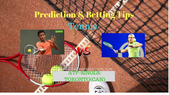 Auger-Aliassime F.(Can) vs Pouille L.(Fra) Tennis Free Prediction 6th August 2018