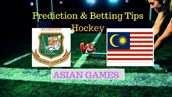 Bangladesh vs Malaysia Hockey Free Prediction 24th August 2018