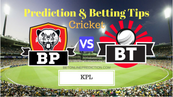 Belagavi Panthers vs Bellary Tuskers 11th T20 Prediction and Free Betting Tips 25th August 2018 (1)