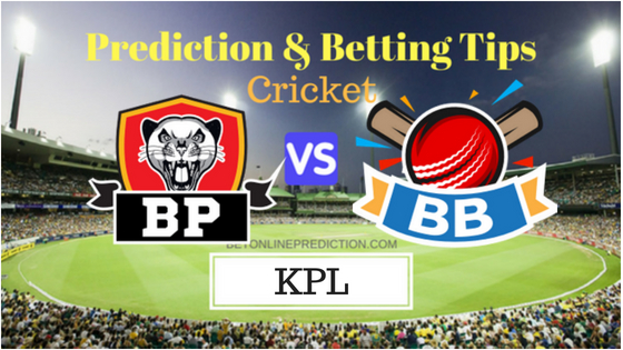 Belagavi Panthers vs Bijapur Bulls 6th T20 Prediction and Free Betting Tips 21th August 2018