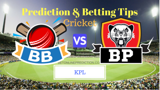 Bengaluru Blasters vs Belagavi Panthers 1st T20 Prediction and Free Betting Tips 15th August 2018