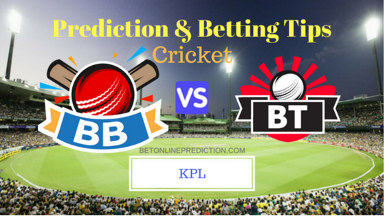 galuru Blasters vs Bellary Tuskers 3rd T20 Prediction and Free Betting Tips 17th August 2018