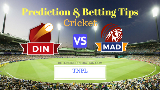 Dindigul Dragons vs Madurai Panthers Qualifier 1 T20 Prediction and Free Betting Tips 9th August 2018 (1)