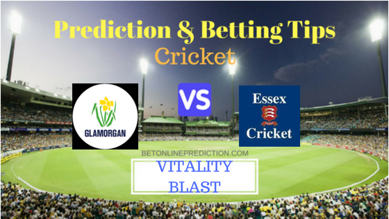 Glamorgan vs Essex South Group T20 Prediction and Free Betting Tips 7th August 2018