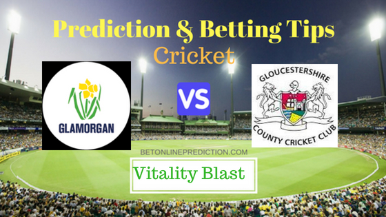 Glamorgan vs Gloucestershire South Group T20 Prediction and Free Betting Tips 3rd August 2018