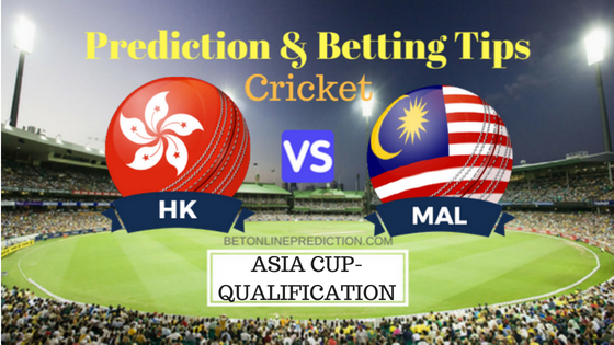 Hong Kong vs Malaysia 1st ASIA CUP QUALIFIER Prediction and Free Betting Tips 29th August 2018