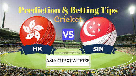 Hong Kong vs Singapore 5th ODI Prediction and Free Betting Tips 30th August 2018
