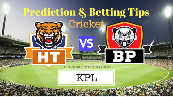Hubli Tigers vs Belagavi Panthers 9th T20 Prediction and Free Betting Tips 1st September 2018 (1)