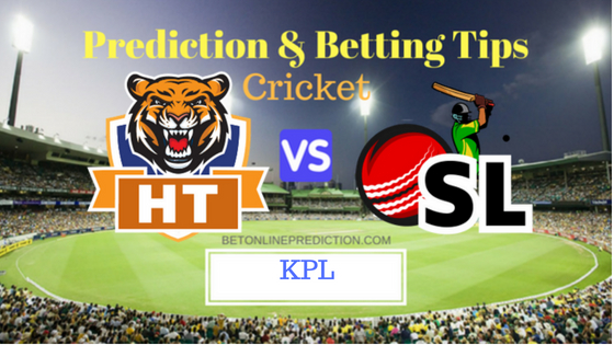 Hubli Tigers vs Shivamogga Lions 4th T20 Prediction and Free Betting Tips 19th August 2018 (1)