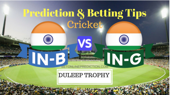 India Blue vs India Green 3rd TEST Prediction and Free Betting Tips 29th August 2018