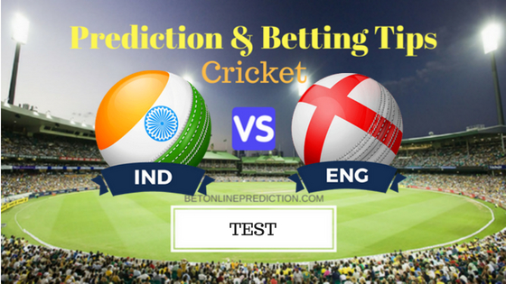 India vs England 4th TEST Prediction and Free Betting Tips 30th August 2018
