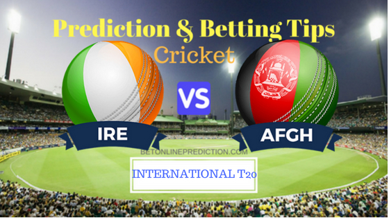 Ireland vs Afghanistan 1st T20 Prediction and Free Betting Tips 20th August 2018