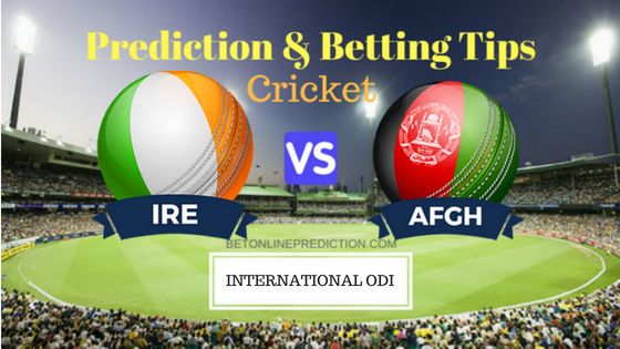 Ireland vs Afghanistan 3rd ODI Prediction and Free Betting Tips 31th August 2018