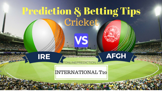 Ireland vs Afghanistan 3rd T20 Prediction and Free Betting Tips 24th August 2018