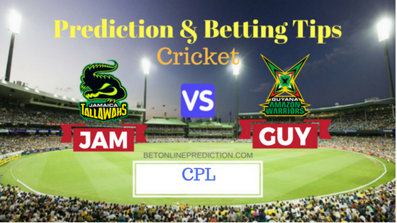 wahs vs Guyana Amazon Warriors 11th T20 Prediction and Free Betting Tips 19th August 2018