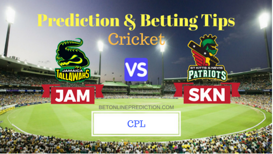 Jamaica Tallawahs vs St Kitts and Nevis Patriots 8th T20 Prediction and Free Betting Tips 16th August 2018 (1)