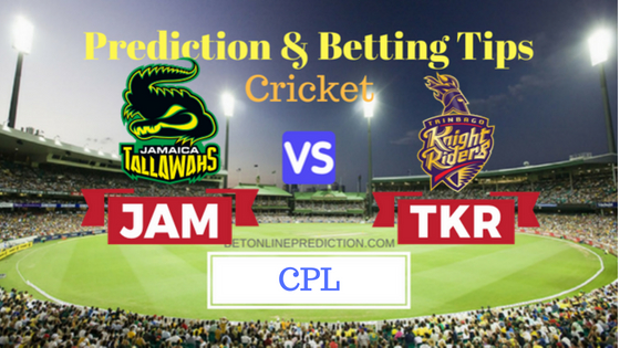 Jamaica Tallawahs vs Trinbago Knight Riders 12th T20 Prediction and Free Betting Tips 20th August 2018