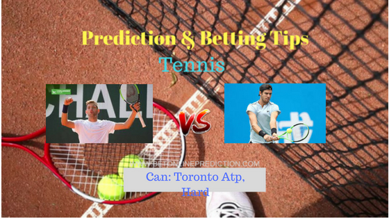 Krajinovic F.(Srb) vs Khachanov K.(Rus)Tennis Free Prediction 7th August 2018