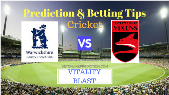 LEIC vs WARKS North Group T20 Prediction and Free Betting Tips 2nd August 2018
