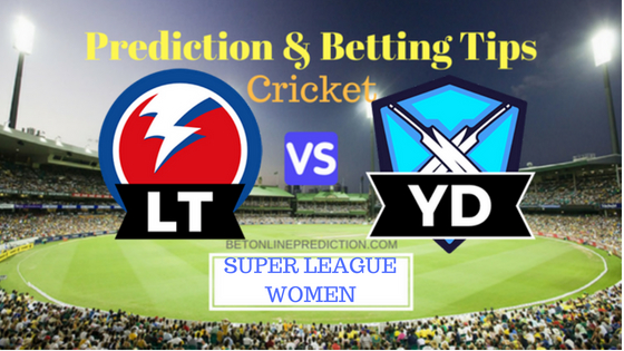 Lancashir Thunder W vs Yorkshire Diamonds W 26th T20 Match Prediction and Free Betting Tips 14th August 2018