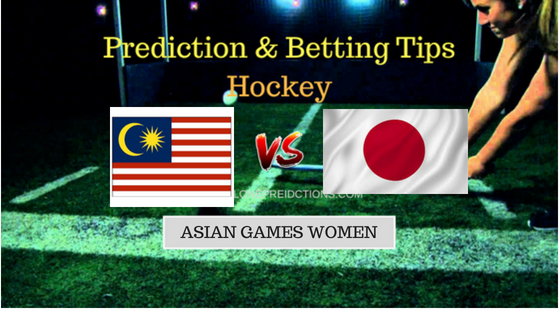 Malaysia W vs Japan W Hockey Free Prediction 27th August 2018