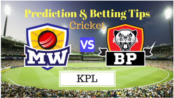 Mysuru Warriors vs Belagavi Panthers 17th T20 Prediction and Free Betting Tips 31th August 2018 (1)