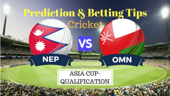 Nepal vs Oman 2nd ODI Prediction and Free Betting Tips 29th August 2018