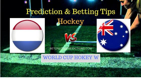 Netherlands W vs Australia W Hockey Free Prediction 4th August 2018