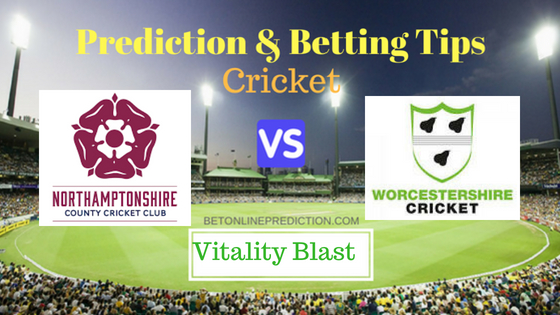 Nottinghamshire vs Worcestershire North Group T20 Prediction and Free Betting Tips 4th August 2018