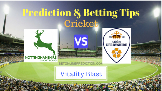 Notts vs Derby North Group T20 Prediction and Free Betting Tips 2nd August 2018