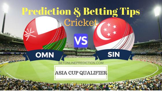 Oman vs Singapore 7th ODI Prediction and Free Betting Tips 1st September 2018