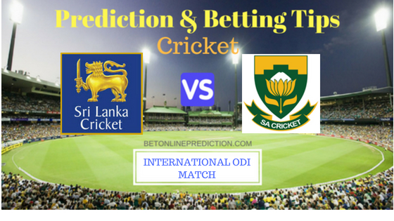 Sri Lanka vs South Africa 3RD ODI Prediction and Free Betting Tips 5th August 2018