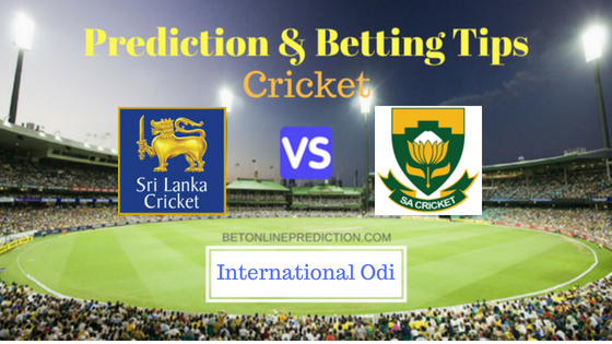 Sri Lanka vs South Africa 4th ODI Prediction and Free Betting Tips 8th August 2018