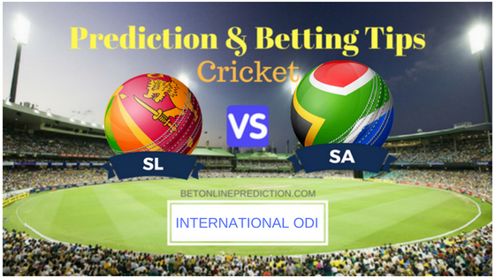 Sri Lanka vs South Africa 5th ODI Prediction and Free Betting Tips 12th August 2018