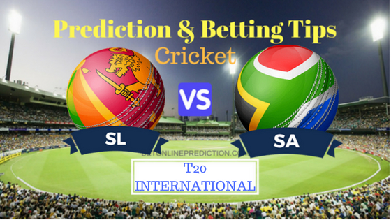 Sri Lanka vs South Africa ONLY 1 T20 Prediction and Free Betting Tips 14th August 2018
