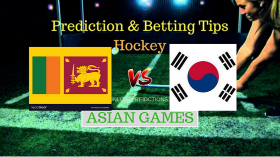 Sri Lanka vs South Korea Hockey Free Prediction 22th August 2018